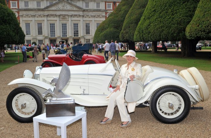 Alfa roadster wins England's posh Concours of Elegance