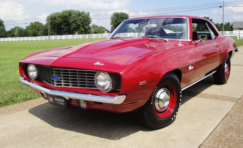 A rare restored-original 1969 Camaro COPO | Barrett-Jackson