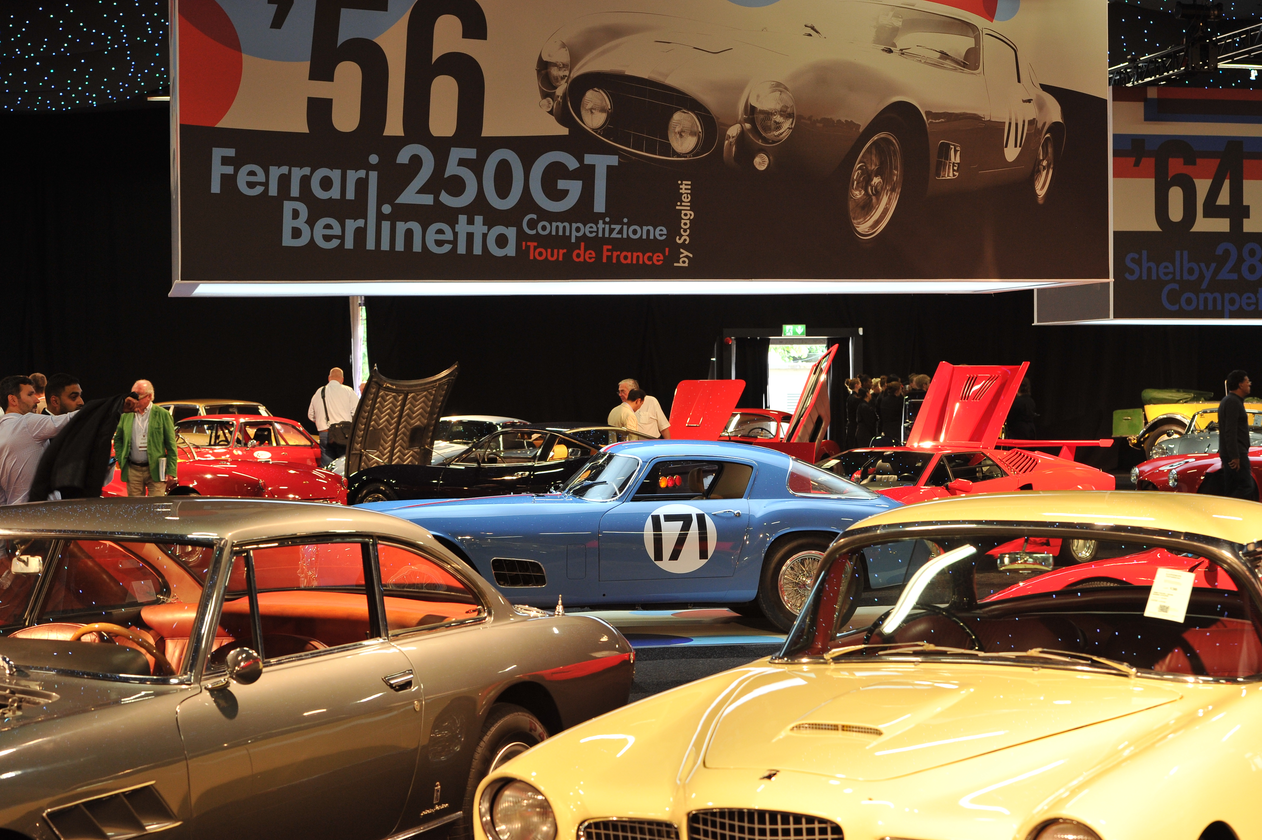 london rm auction mileage ferraris bids condition draw low cars journal fluid tim scott scene