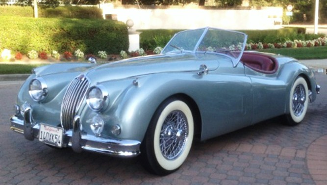A fine 1954 Jaguar XK140 to be auctioned | Russo and Steele