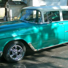 My Classic Car: John's 1955 Chevrolet 210