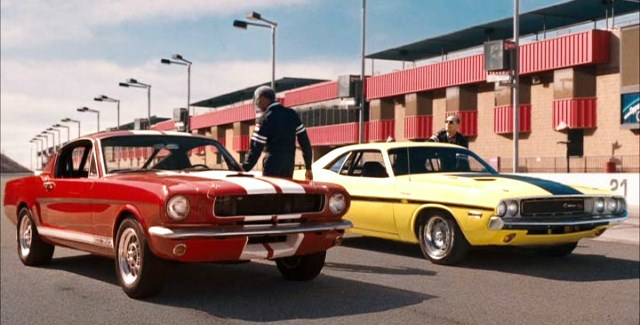 Freeman and Nicholson head toward their dream cars in the film
