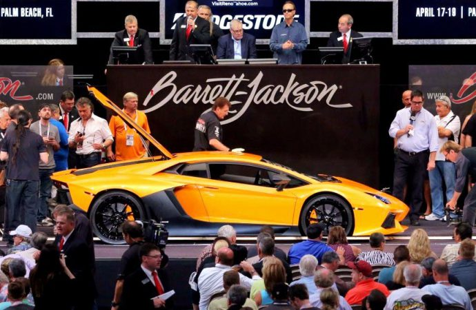 Barrett-Jackson hits record $33.3 million sale in Vegas