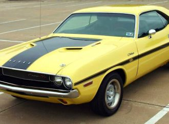 1970 Challenger from 'The Bucket List'