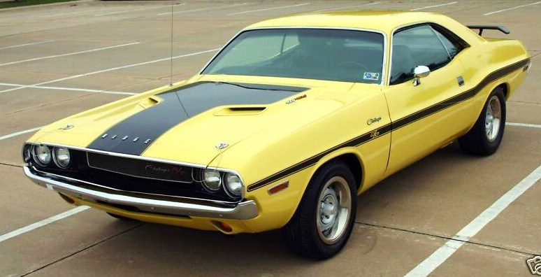 You might recognize this 1970 Dodge Challenger from its supporting role in 'The Bucket List'