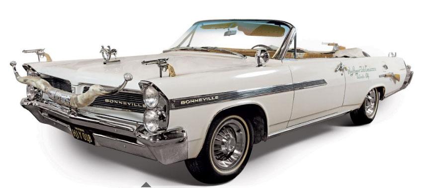 Roy Rogers' wildly festooned 1963 Pontiac | RM Auctions