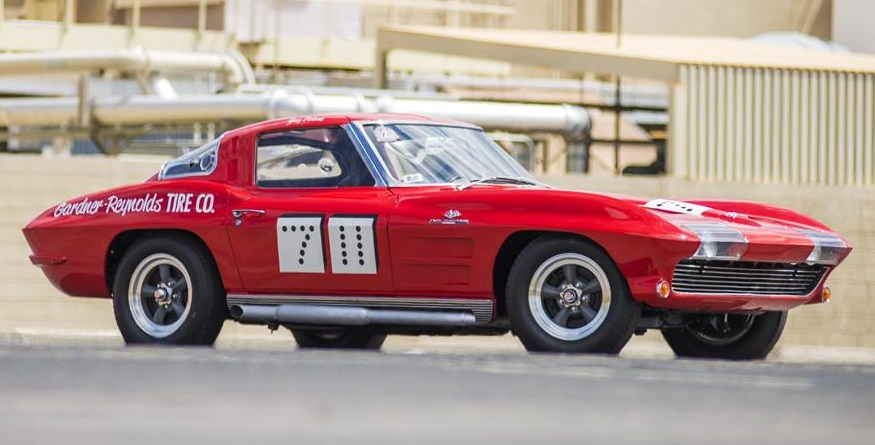 The '63 Corvette was a notable, purpose-built race car even before its role in 'Viva Las Vegas' | Barrett-Jackson