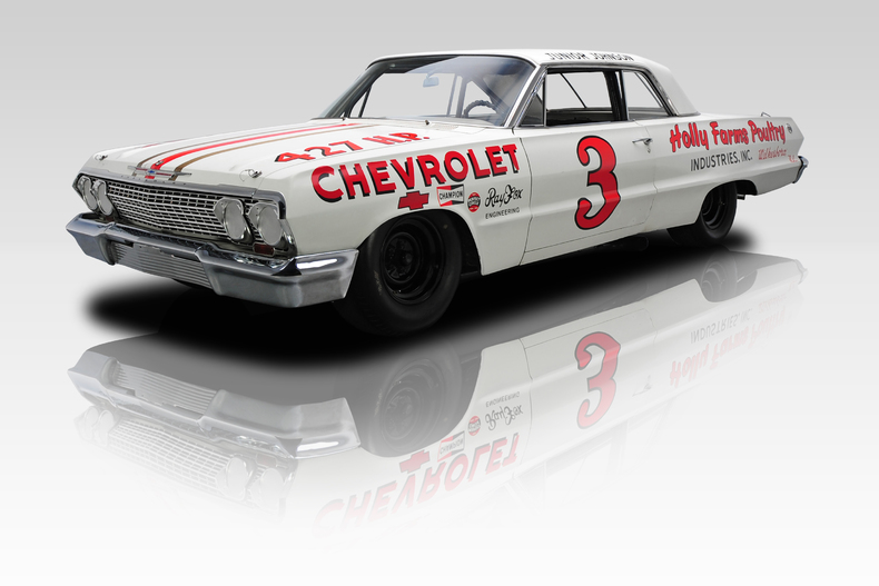 'Mystery Motor' '63 Chevrolet | RK Motors Charlotte photo