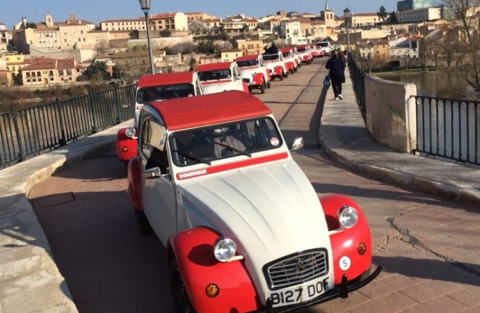 British company restores 16 classic Citroen 2CVs for adventure-trip rentals