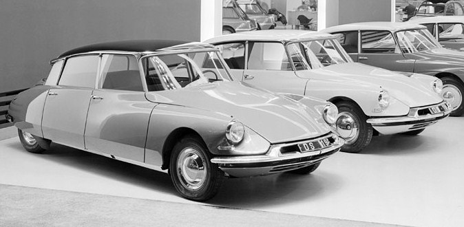 The Citroen DS19 was introduced to the public in 1955 | Citroen