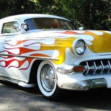 1954 Chevrolet 210 custom coupe