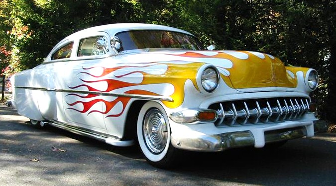 1954 Chevrolet 210 custom coupe