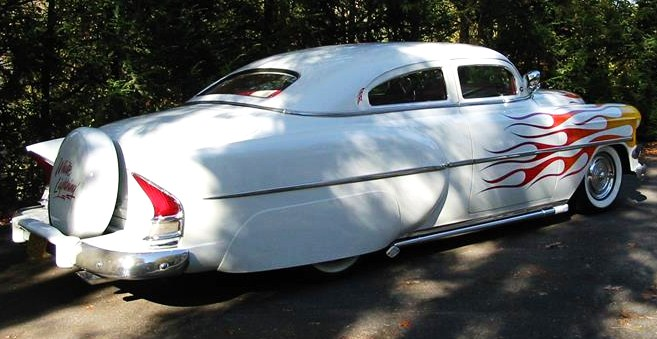 The Packard tailfins are nicely integrated