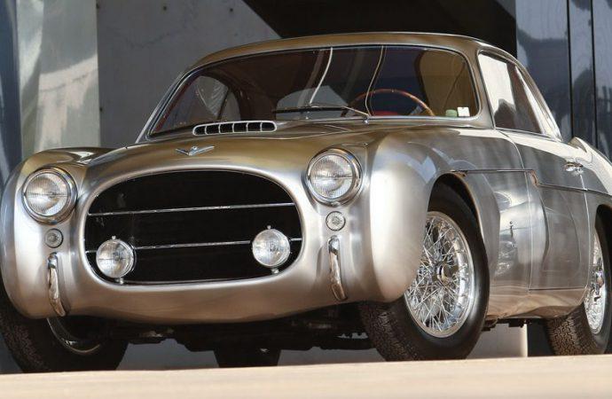 Unique 1954 Fiat 8V Ghia entered in Arizona Concours