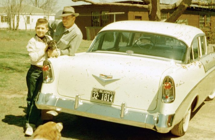 My Classic Car: Brown family's 1956 Chevrolet Bel Air