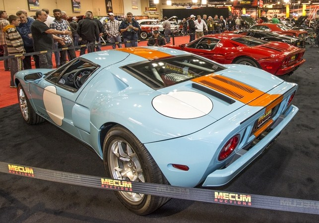 The Ford GT triple threat before the sale | John Hollansworth Jr./Mecum Auctions