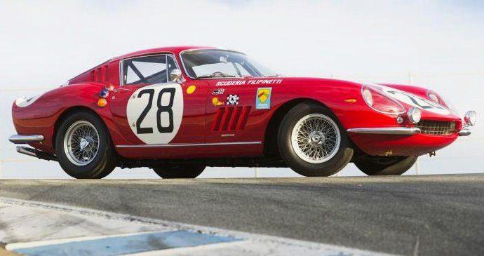 Historic Ferrari 275 GT-class race car in Bonhams' Scottsdale auction