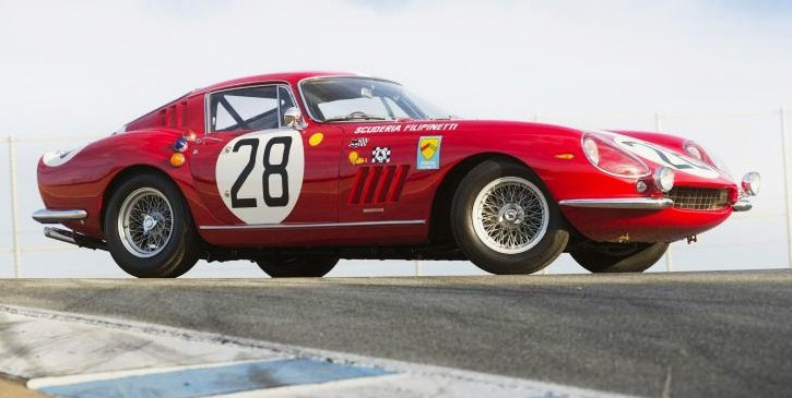 The 1966 Ferrari 275 Gran Turismo Berlinetta Competizione Scaglietti has strong racing history | Bonhams