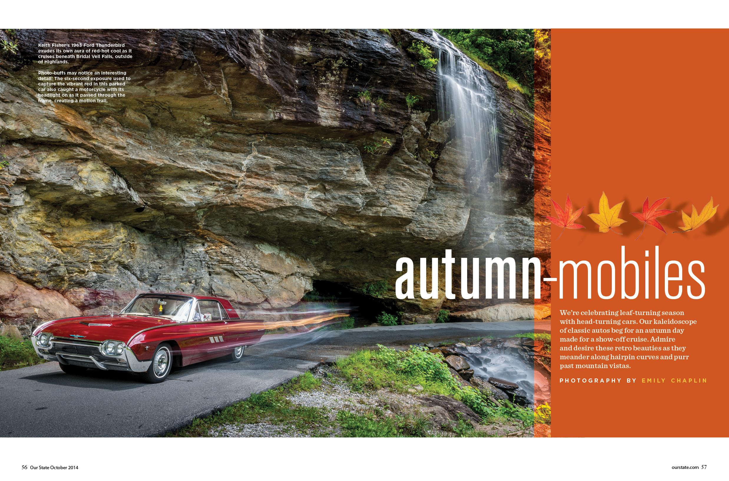 Autumn-mobiles: Celebrating classic cars in classic North Carolina ...
