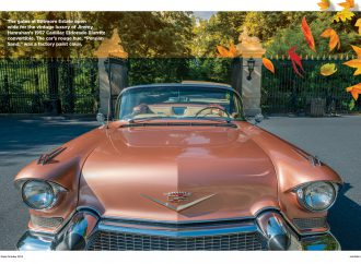 Autumn-mobiles: Celebrating classic cars in classic North Carolina scenery