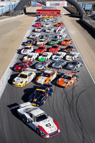 Some of the historic racers at Rennsport IV | Porsche