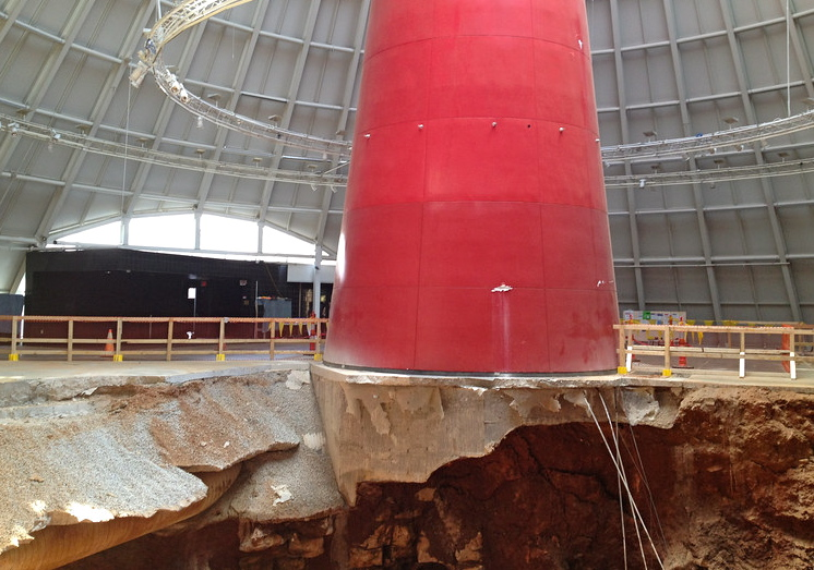 Repairs begin mid-November, should be finished next July   National Corvette Museum