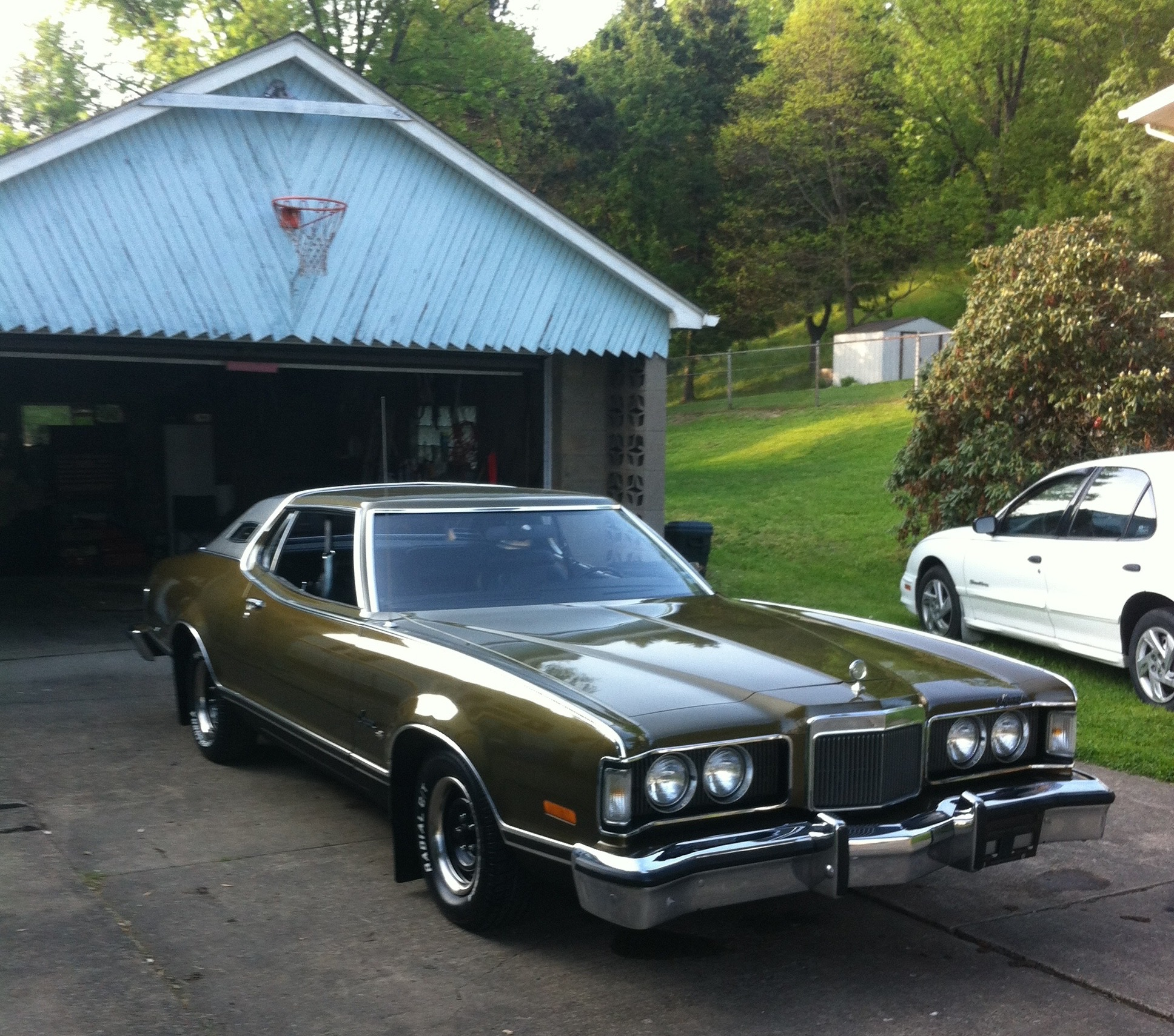 My Classic Car: Roger's 1974 Mercury Cougar XR7