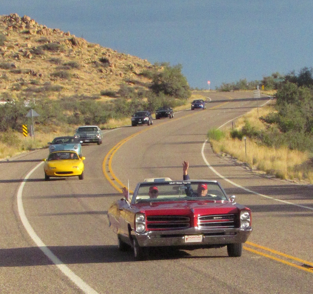 Road rallies introduce us to new places, and to new faces