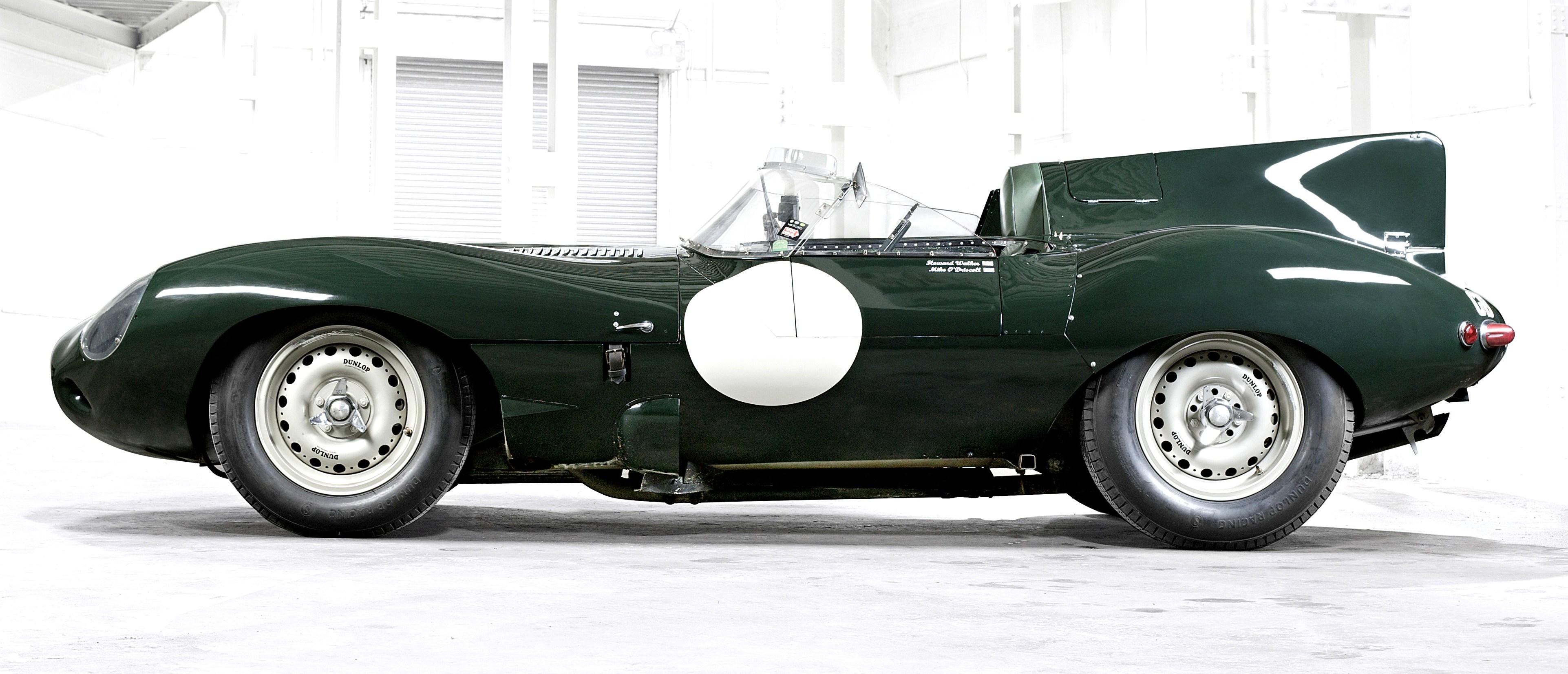 Jaguars Iconic D Type Race Car