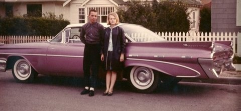 Purple Pontiac led to first date... and then marriage | Ernie Laprairie photos