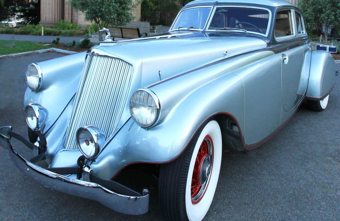 Rare Pierce-Arrow Silver Arrow to Arizona Concours