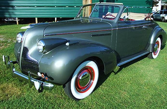 The 1939 Buick Special convertible has been restored to original condition | Woltz & Associates