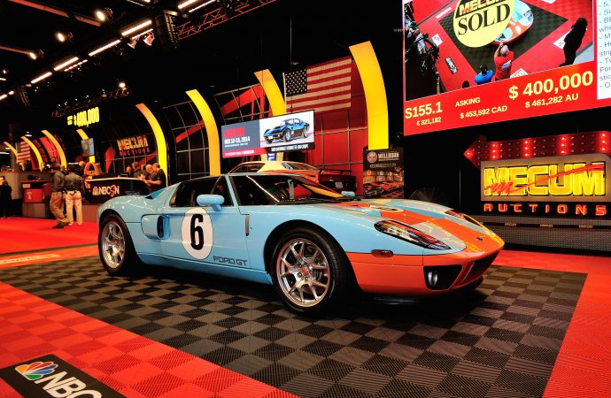 Mecum does $15 million sale in Southern California