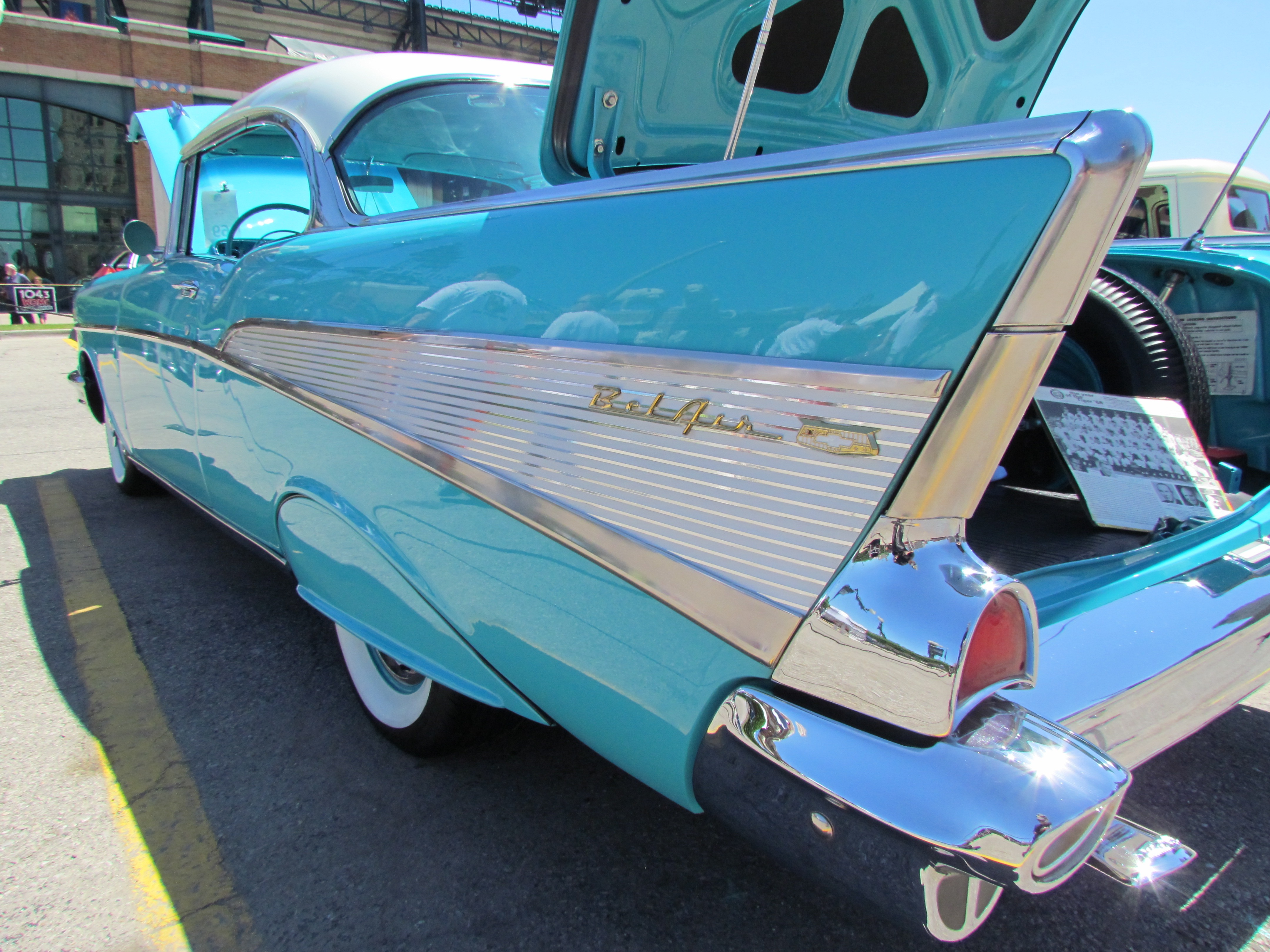Head Light Chrome Cover 7 inch Cat Eye 1953 1954 1955 1956 1957 Belair 210 150