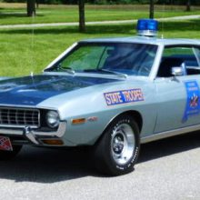 1972 AMC Javelin police-car tribute