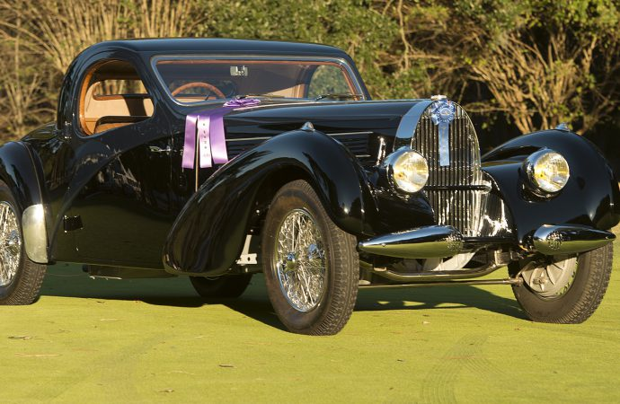 1938 Bugatti Type 57C is Best of Show at Hilton Head