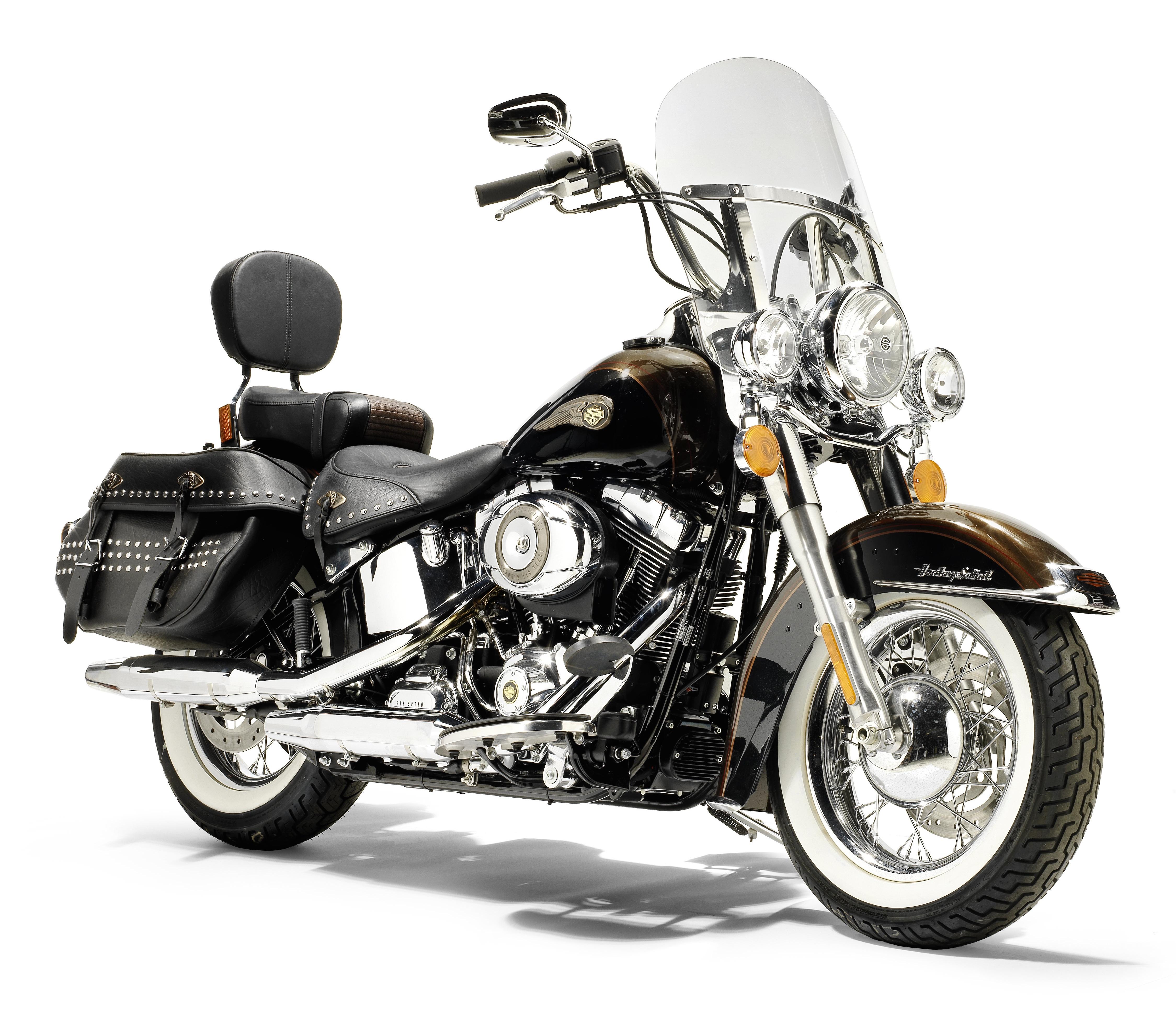 Pope's Harley Davidson 1,690cc FLSTC 103 Heritage Softail Clic ...
