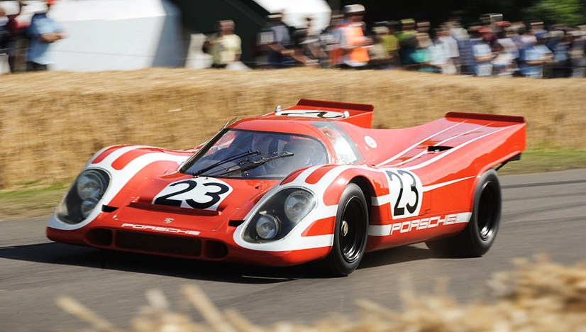 A 1970 Porsche 917 short tail takes to the track during last year's Goodwood Festival of Speed | Goodwood Festival