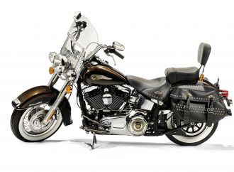 Pope's Harley headed to charity auction