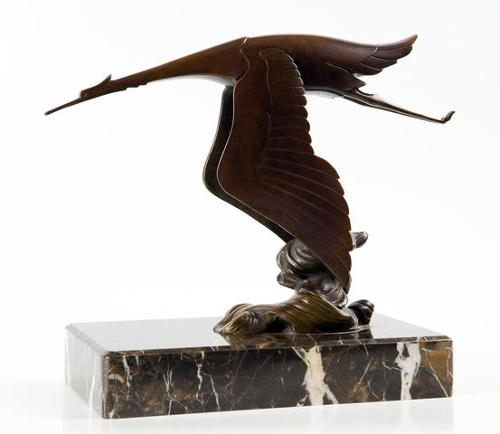 Circa 1920 Hispano Suiza dealer showroom bronze could fetch $7,000 to $9,000 | Bonhams