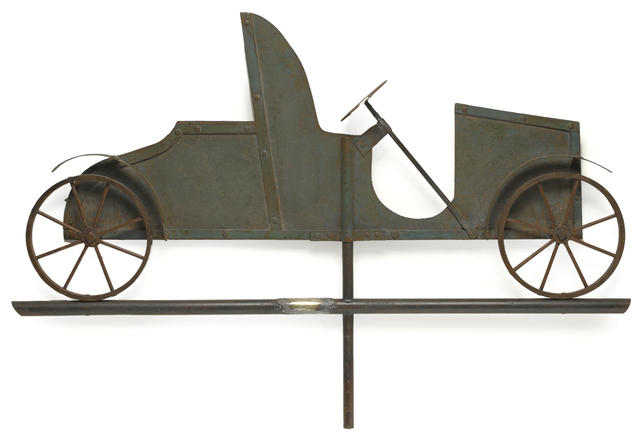 Kerns Motor Co. factory weather vane valued at $10,000 to $15,000