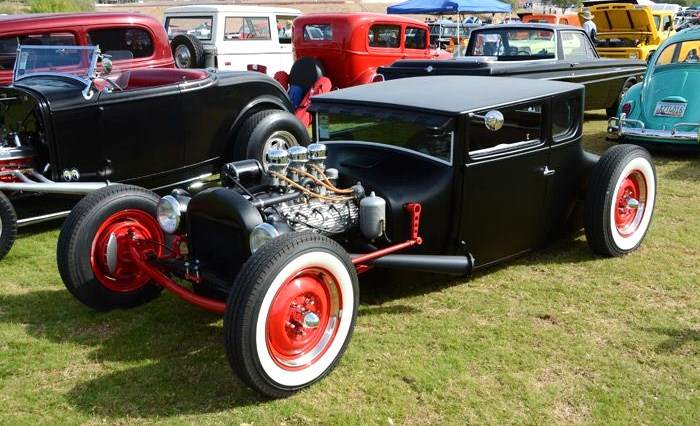 A wide array of cool custom cars will be on the field at WestWorld   Goodguys