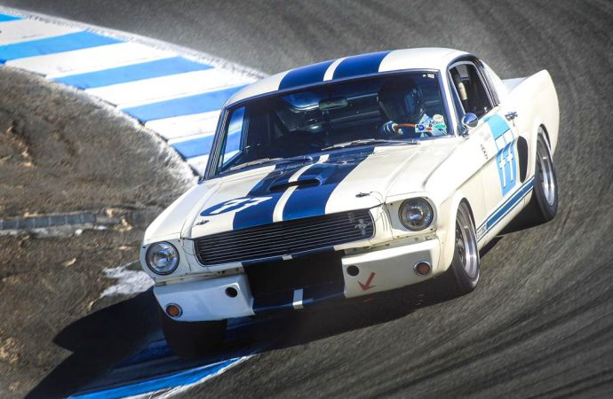Rolex Monterey Motorsports Reunion to celebrate the 50th anniversary of Shelby GT350 Mustang