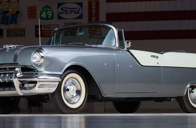 Countdown to Barrett-Jackson: 1955 Pontiac Star Chief convertible