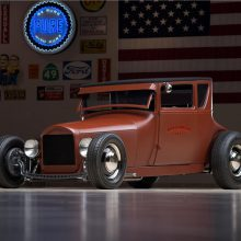 1927 Ford Model T Coupe Rat Rod