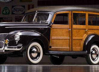 Countdown to Barrett-Jackson: 1940 Ford Woody Wagon