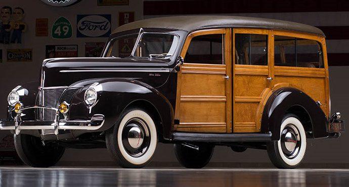 Countdown to Barrett-Jackson: 1940 Ford Woody Wagon