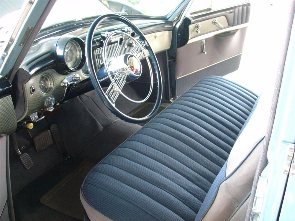 Interior is as it was when Hughes owned the car