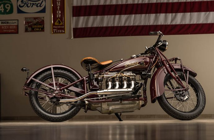 Countdown to Barrett-Jackson: Vintage motorcycles