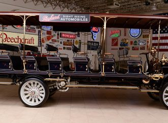 Countdown to Barrett-Jackson: 1912 Packard Sightseeing Bus